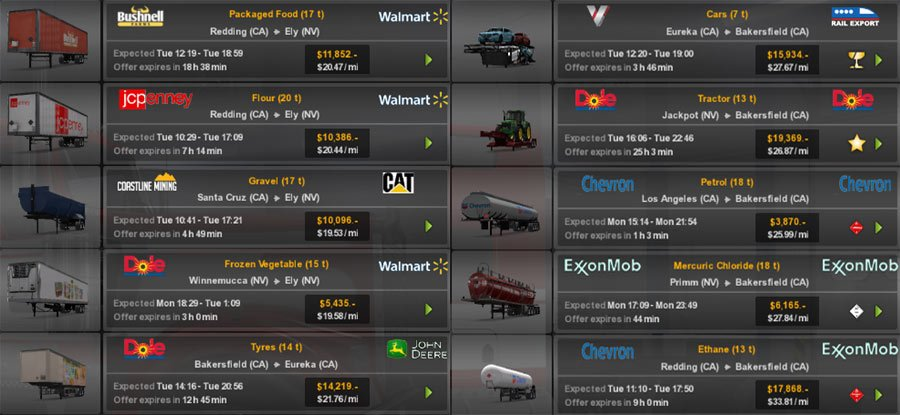 Real Companies & Trailers Pack v1.0