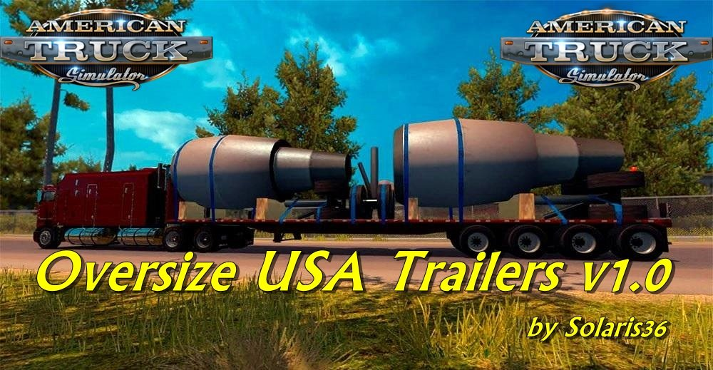 Oversize USA Trailers v1.0 by Solaris36