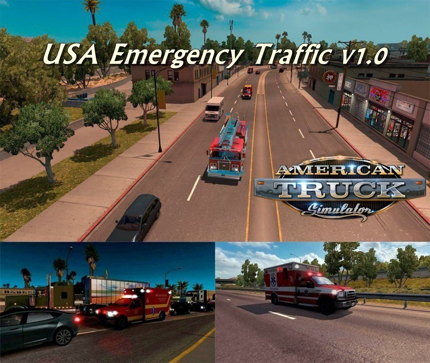 USA Emergency Traffic v1.0 by Solaris36