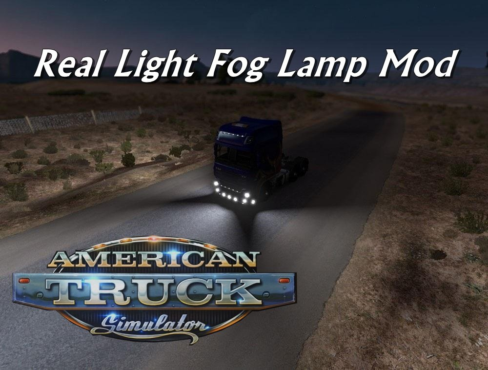 ATS Real Light Fog Lamp Mod