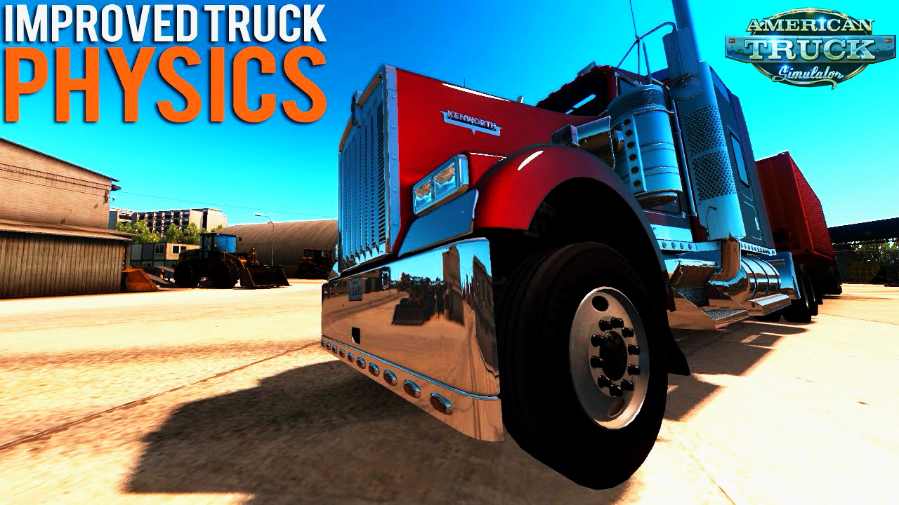 Physic Mod v2.0 by SmhKzl for ATS