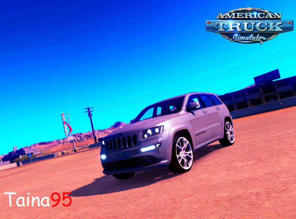 Jeep Grand Cherokee SRT8 + Interior v1.0 for ATS