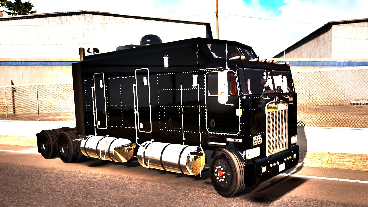 kenworth k 1000 monster truck american truck simulator ats mods