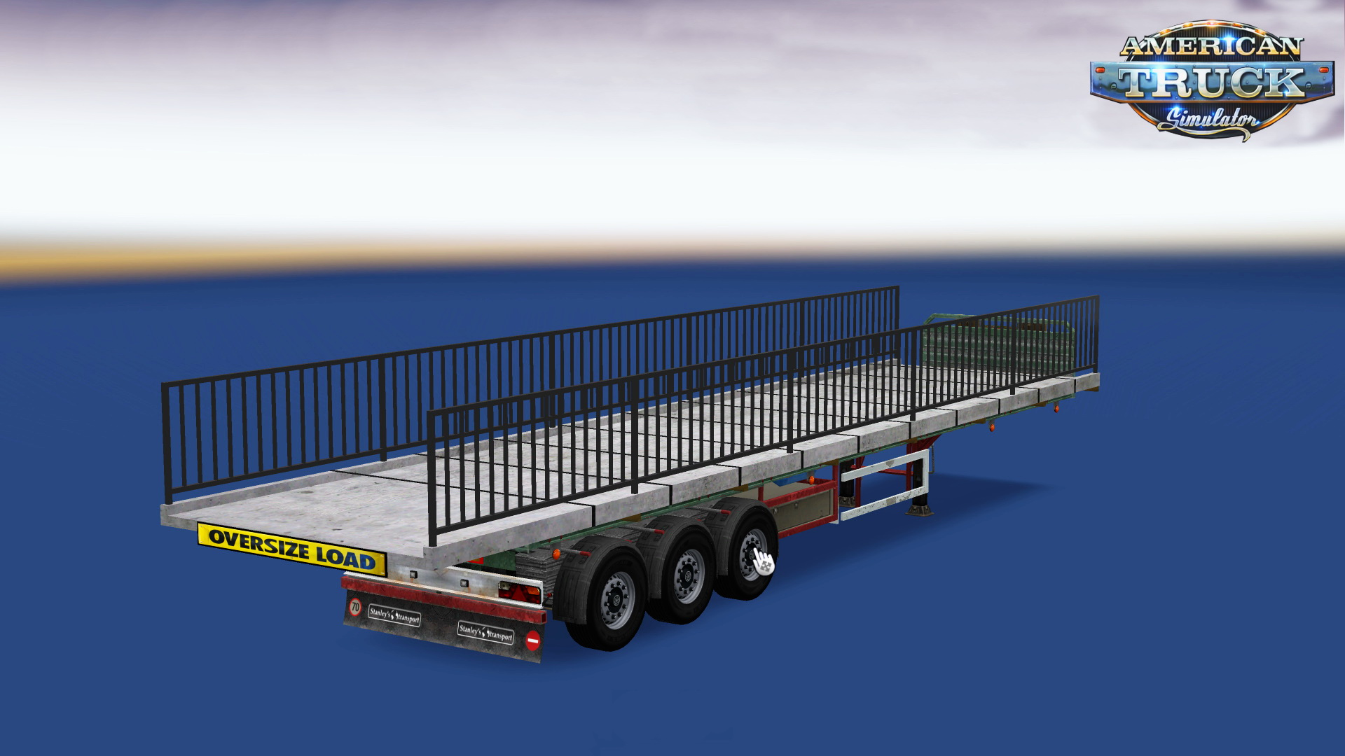 Bridge Part Trailer v1.0 for ATS