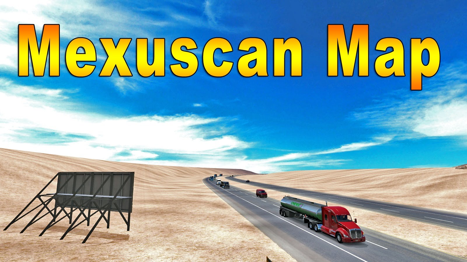 Mexuscan Map v1.10 by ManiaX
