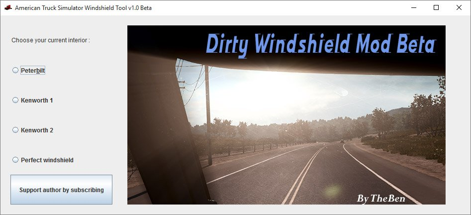Dirty/Scratched Windshield Mod + Enhanced Graphics v1.0
