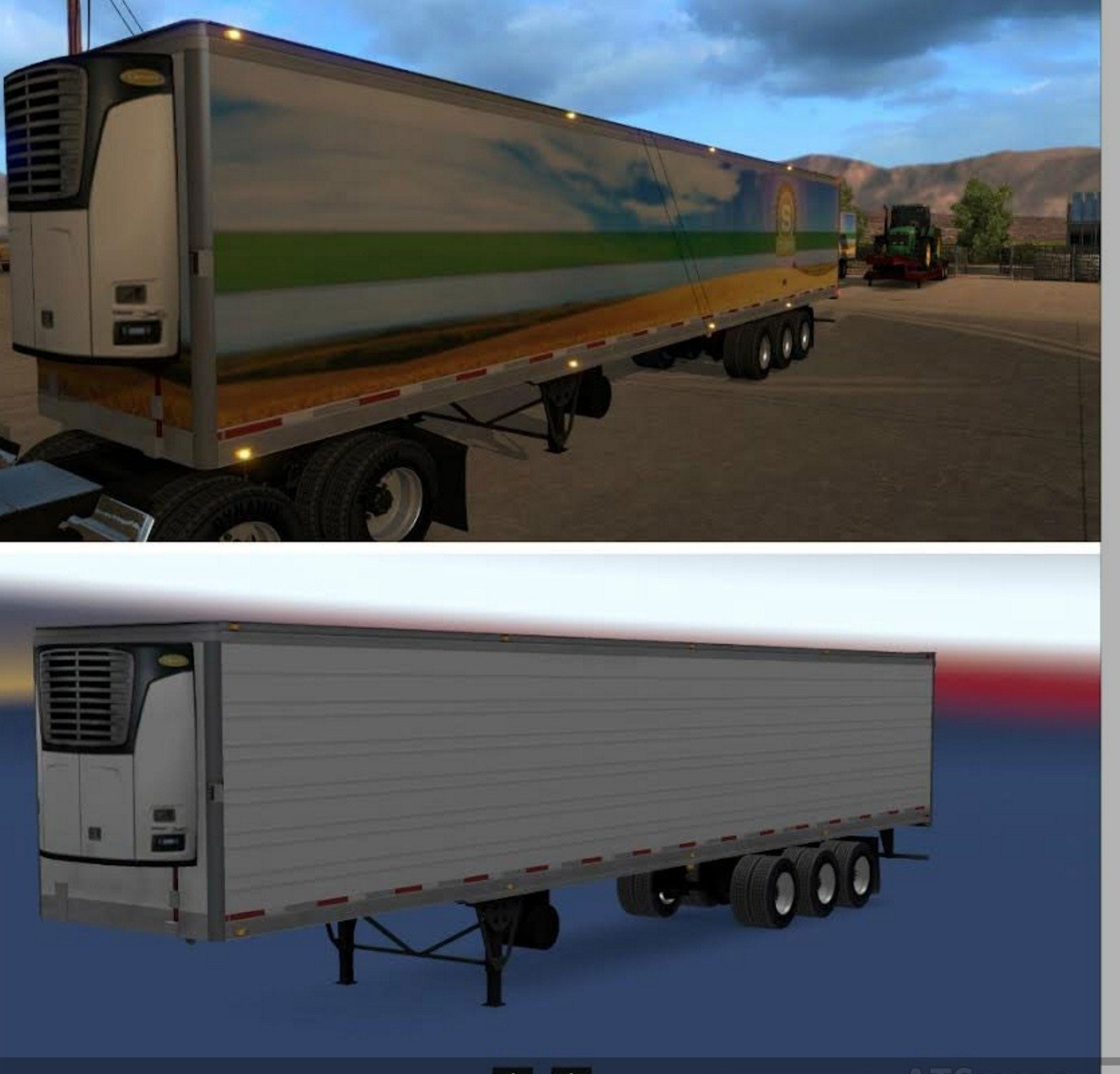 Reefer 3 Axles Trailers (Standalone)