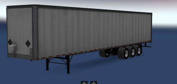 Box 3 Axles Standalone Trailers