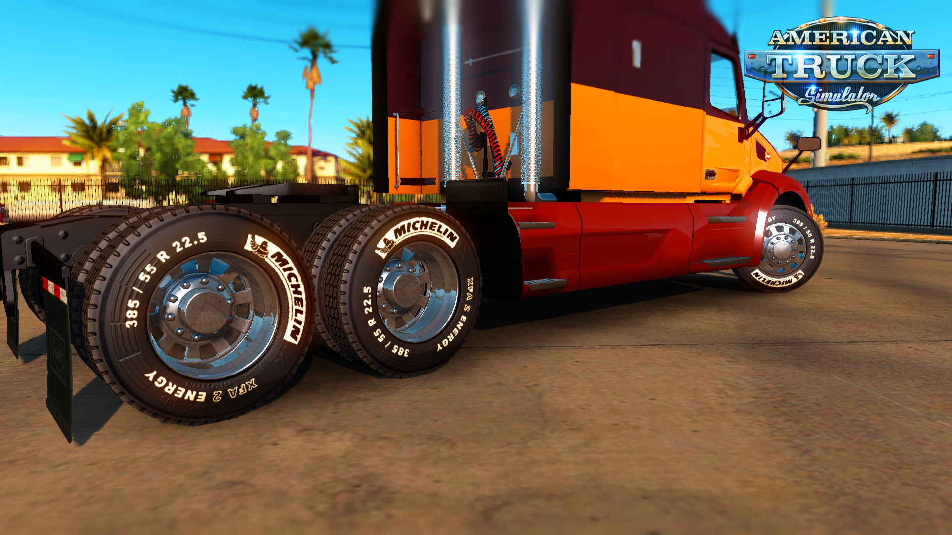 Michelin And Goodyear Tires Mod v1.0 for ATS