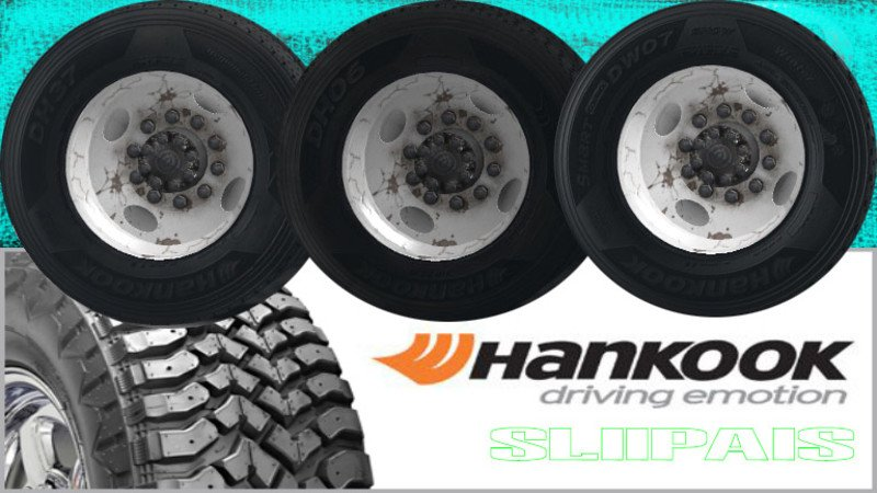 ATS-Hankook Truck Tires v1.0