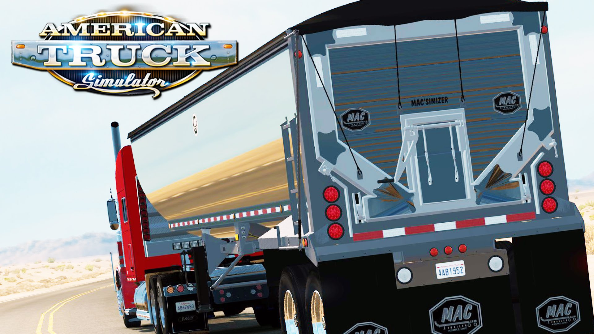 American Truck Simulator- My Mistake » ATS mods | American