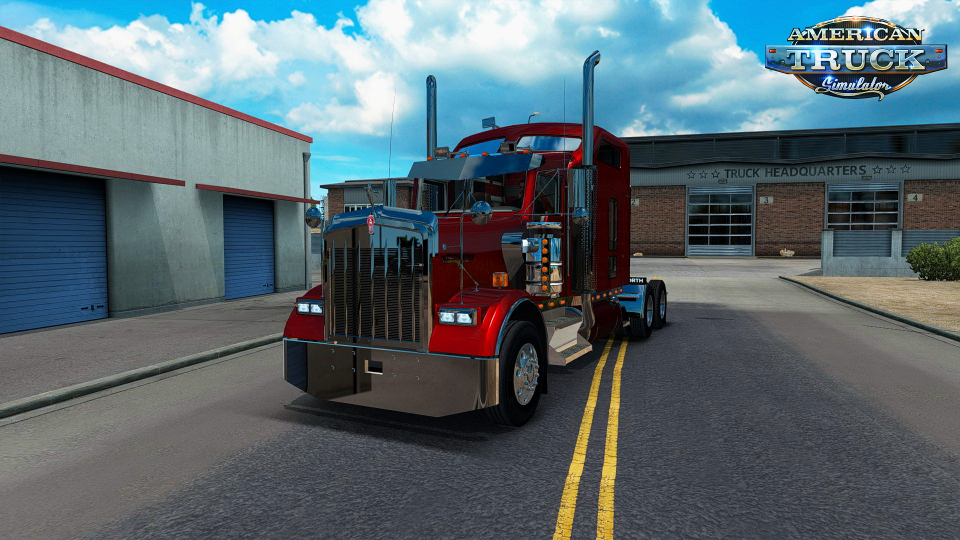 Kenworth W900 + Interior v1.0 (v1.2.x)