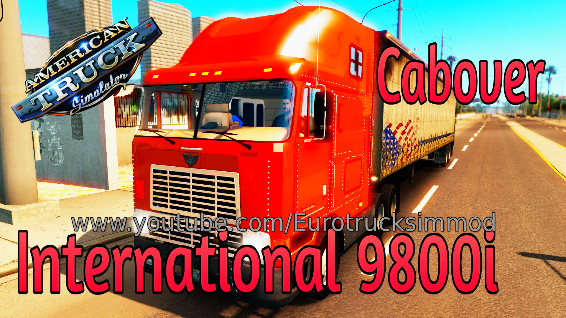 International 9800i Cabover + Interior v1.0 (Beta)