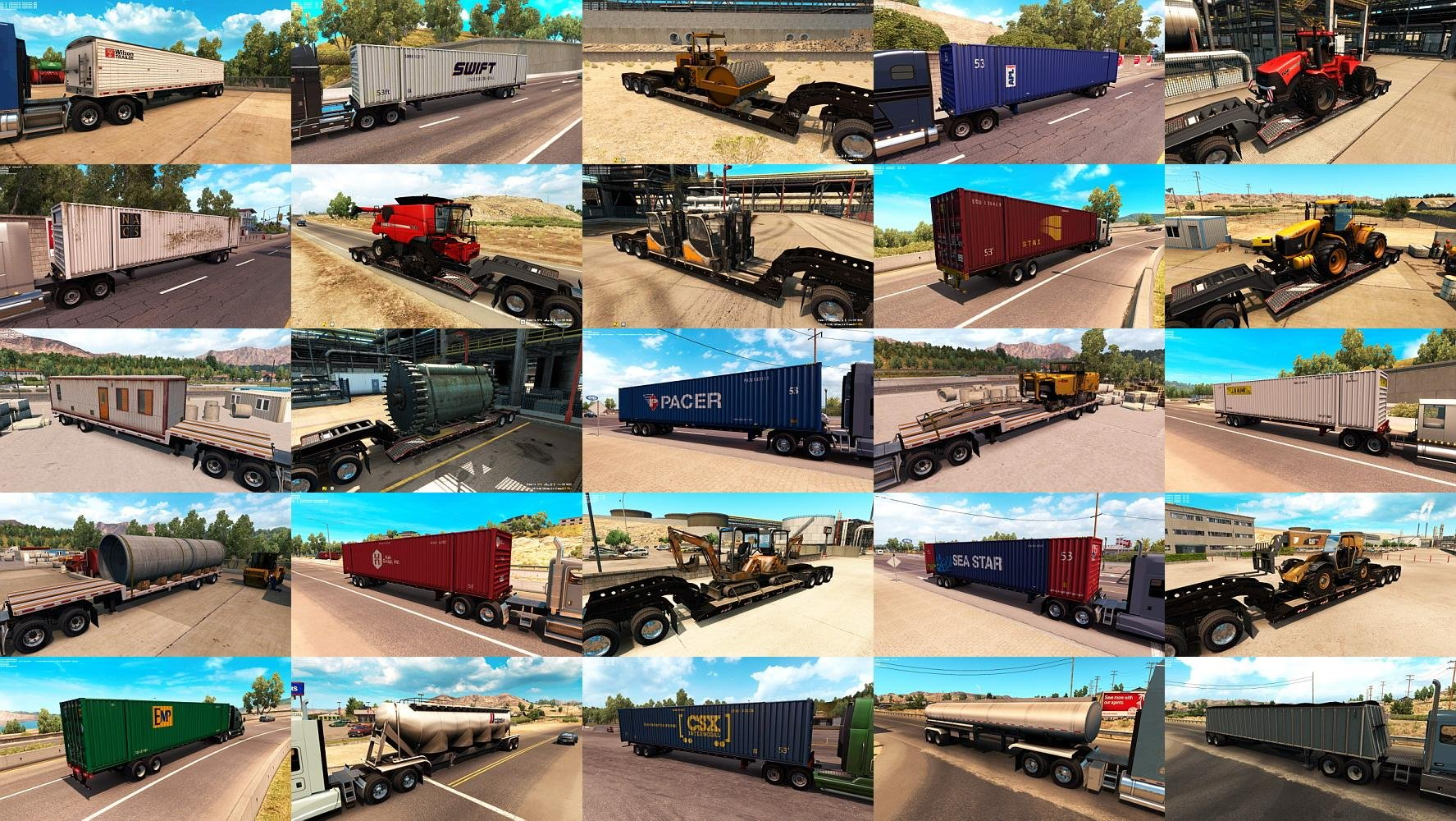 ATS Trailers and Cargo Pack v1.1.1 by Jazzycat