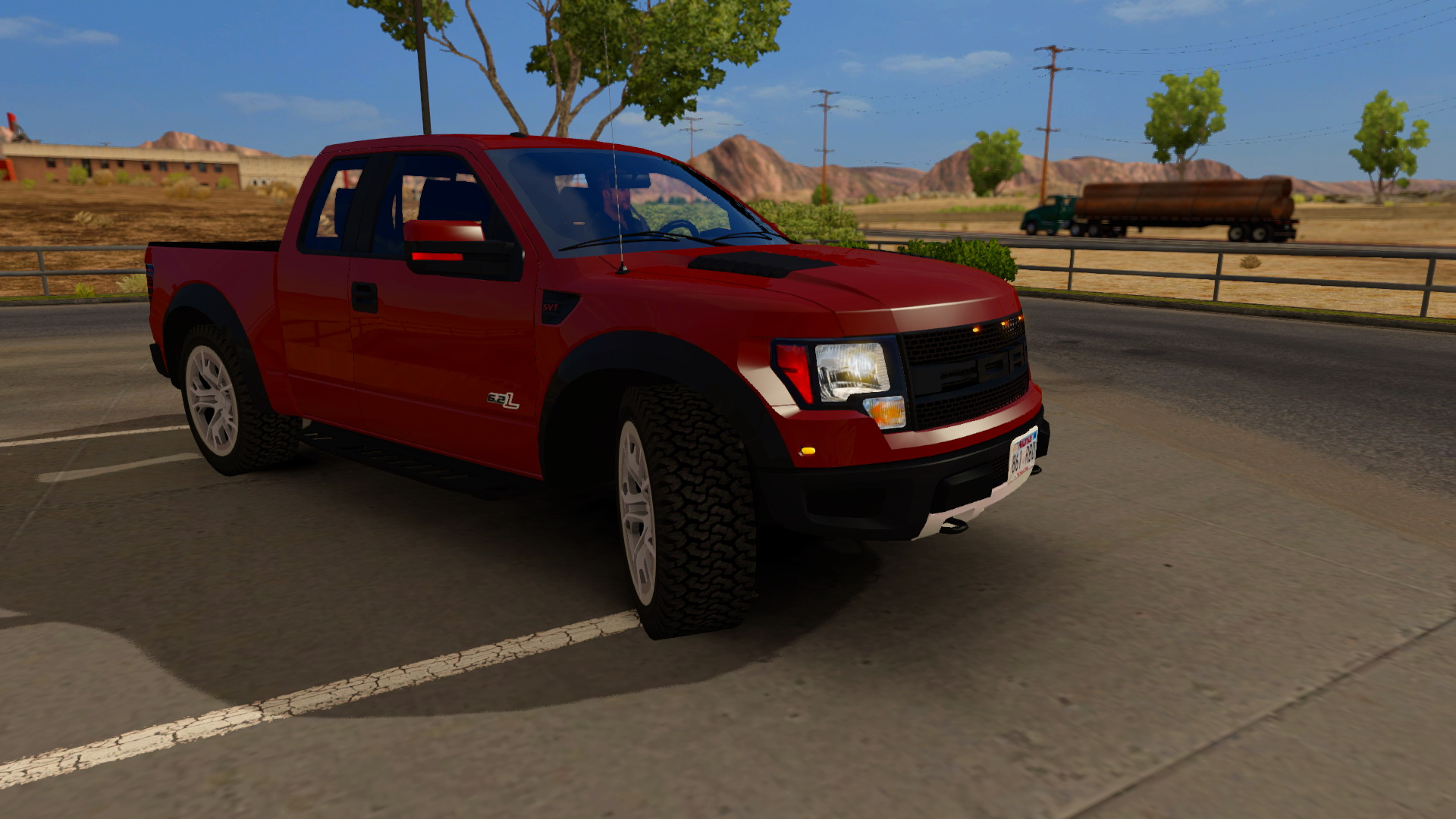 Ford F150 Raptor SVT + Interior (Urban Version) v2.0 for ATS