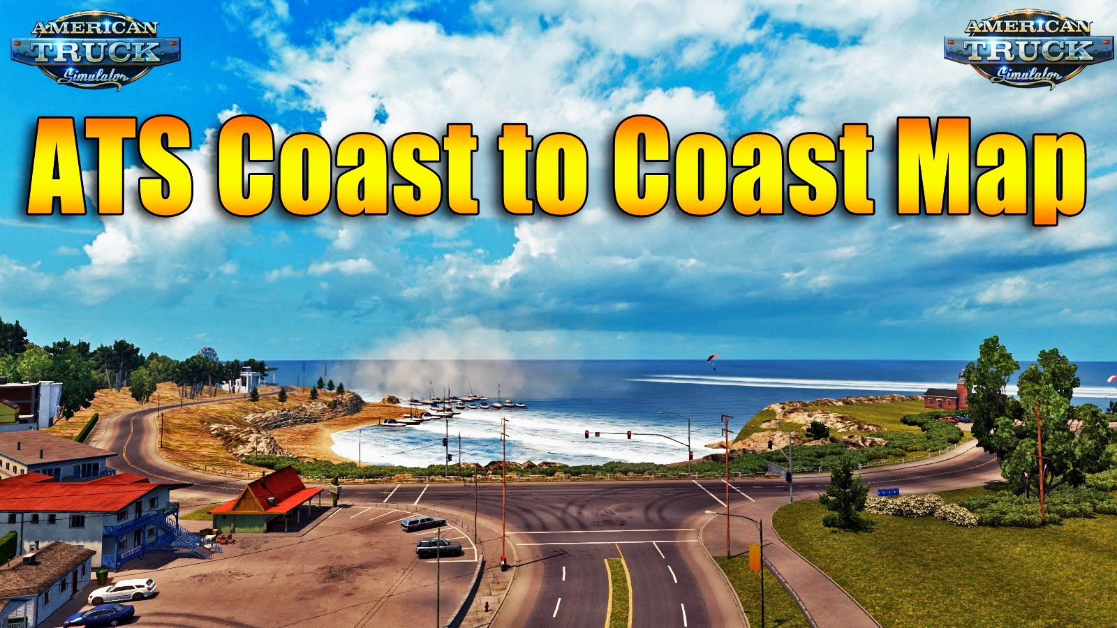 Coast to Coast Map - v2.5.2 [1.32Beta] by Mantrid