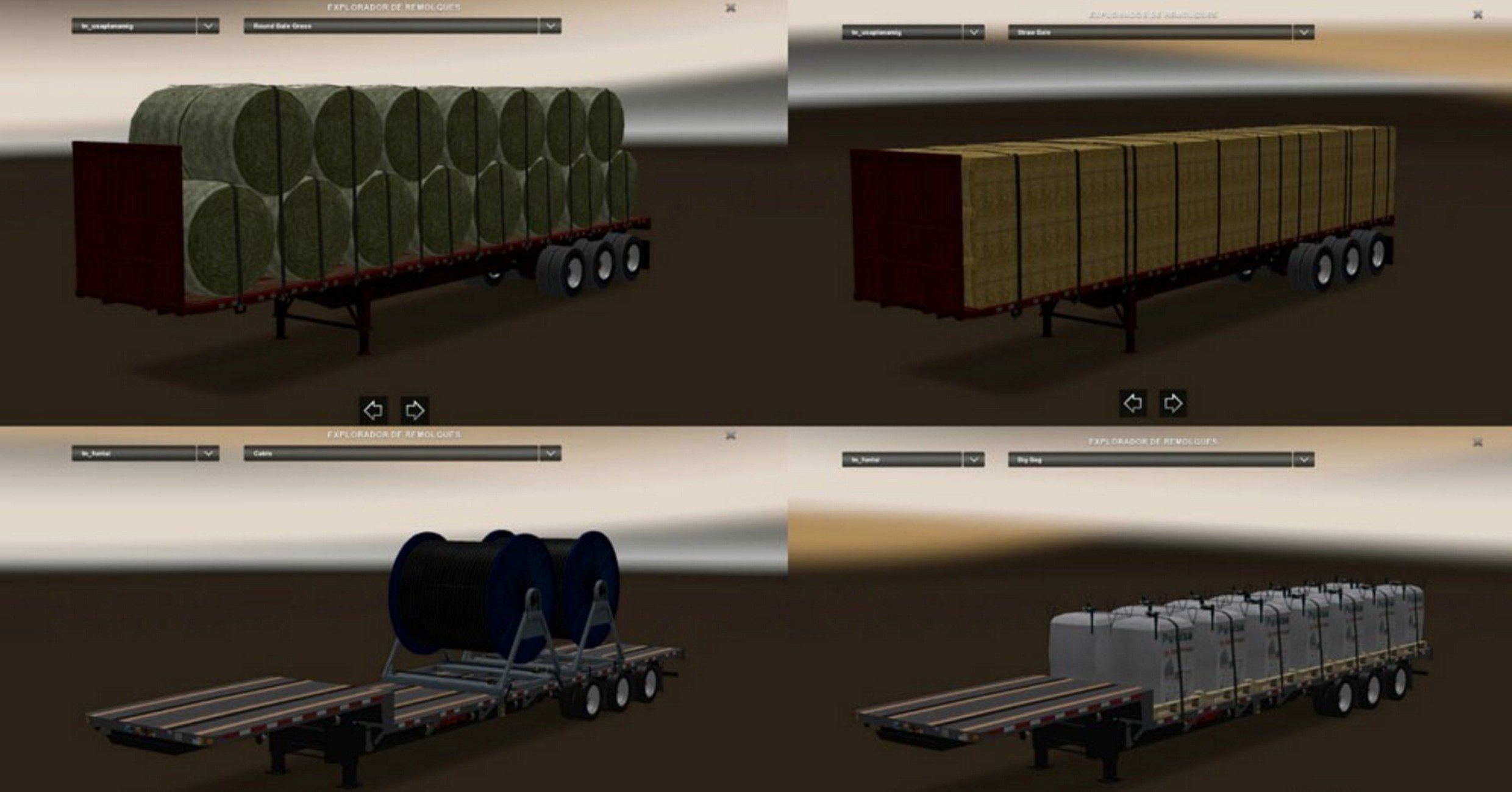 Trailers Pack v 1.1 for ATS