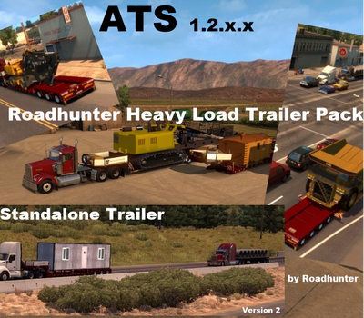 Roadhunter  Heavy Load Trailer Pack for ATS [1.2.x]