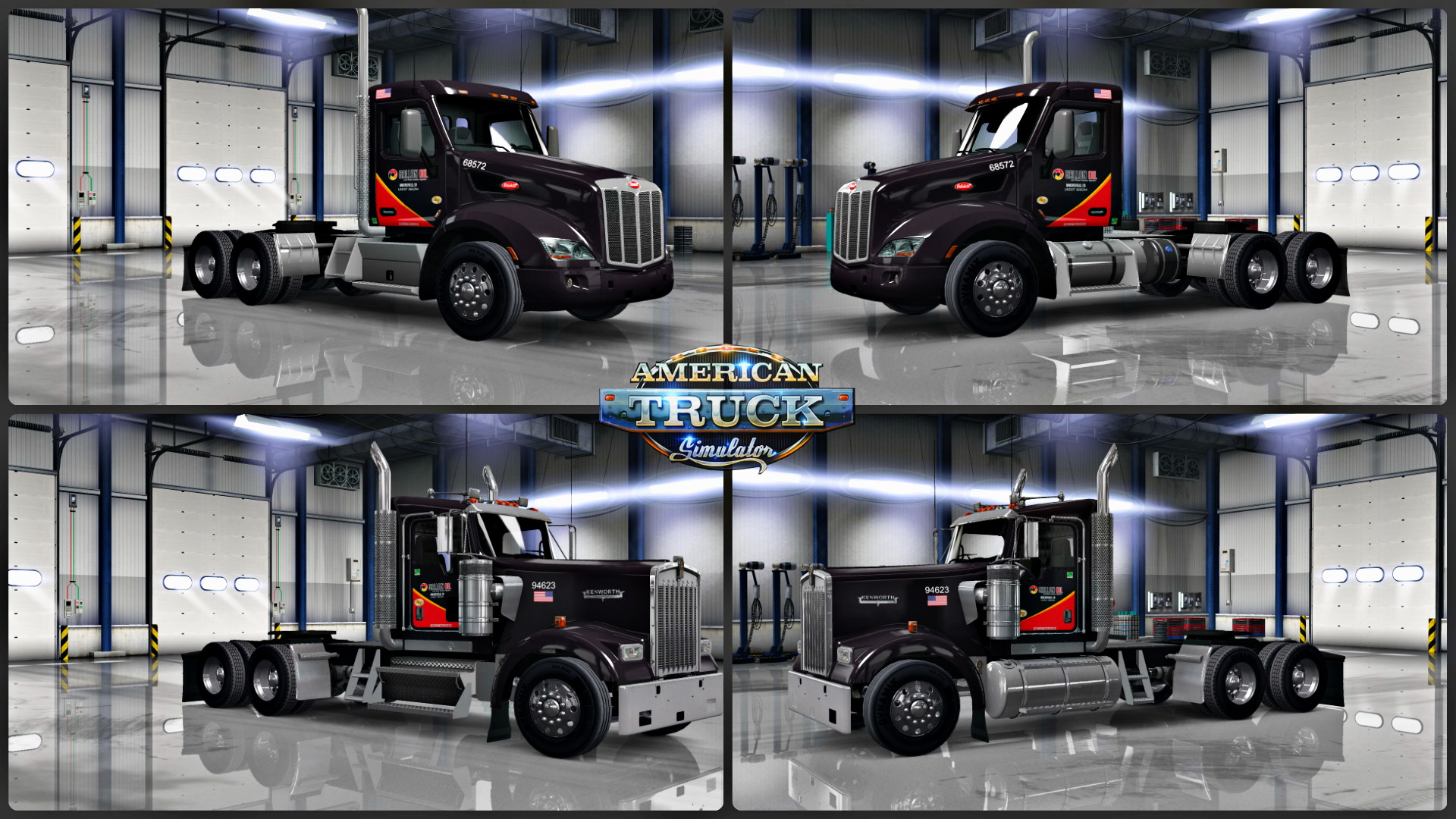 Gallon Oil Skins Pack for trucks v1.0 by MildredRatchedRN