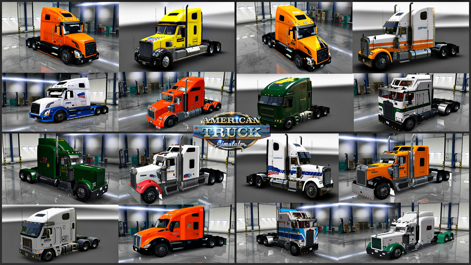 Long Distance Movers Truck Skins Pack v1.0 by Hounddog