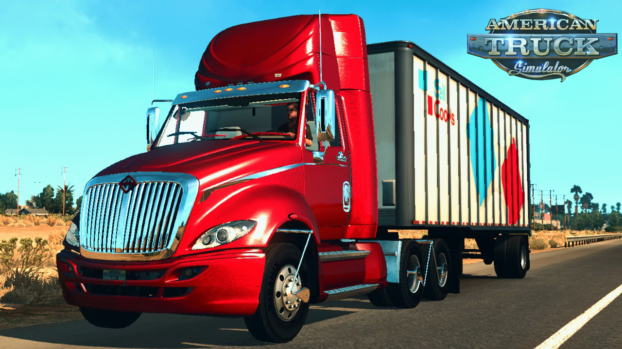 international trucks for ats american truck simulator. Black Bedroom Furniture Sets. Home Design Ideas