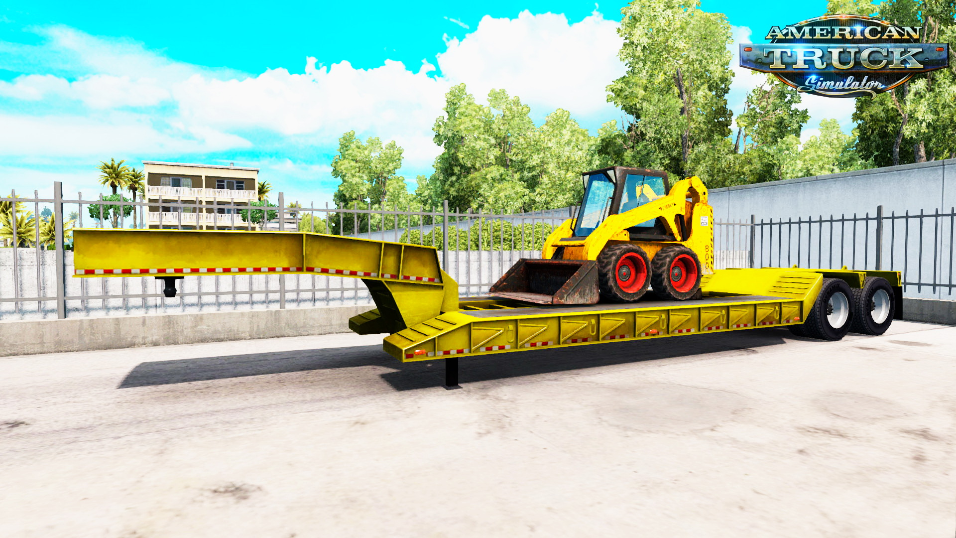 Trailer Lowboy Bobcat 800 v1.0 by pit19169