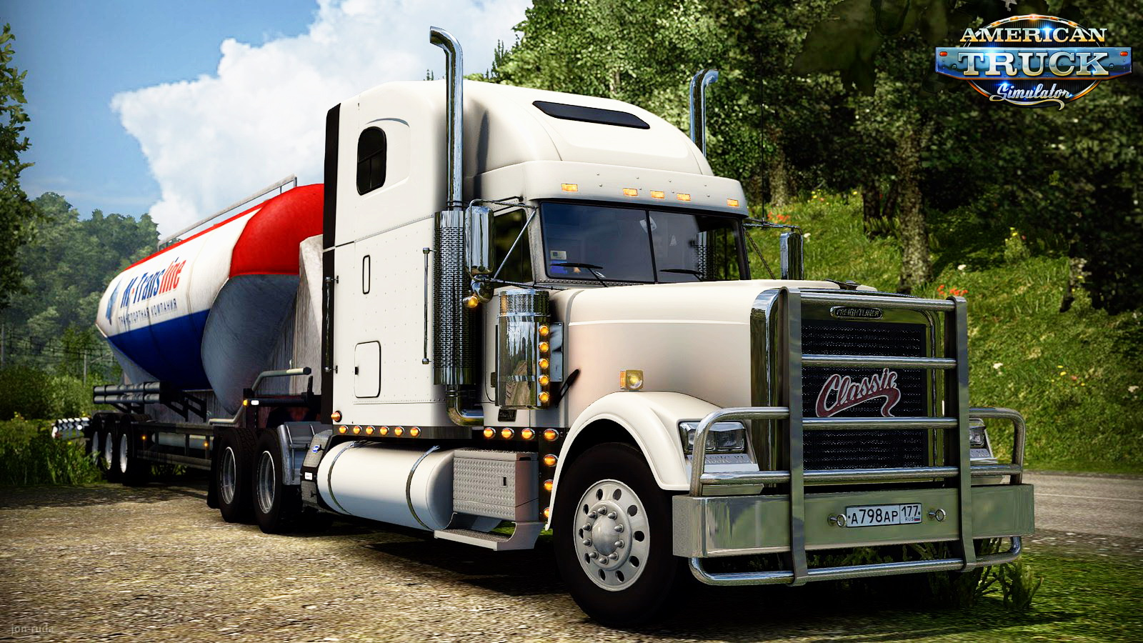 Freightliner Classic XL + Interior v2.1 Edit by Solaris36 for ATS