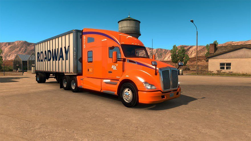 ATS-North American Freight Forwarders  Skin Pack For T680 v1.0