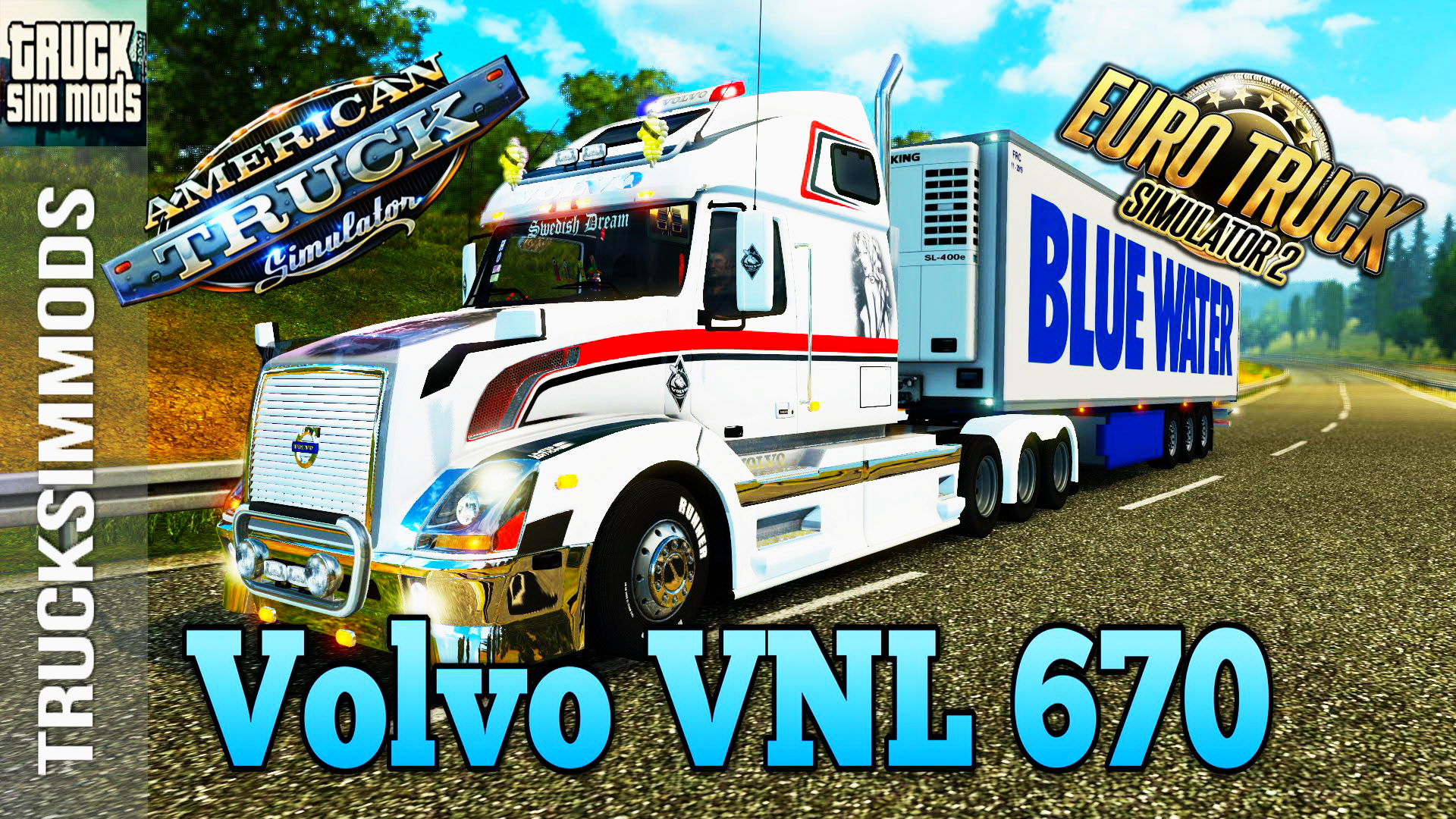 Volvo VNL 670 + Interior v1.5 (v1.4.x) for ATS