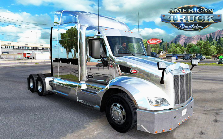 Chrome Mod for Peterbilt 579 v1.0 by Piva