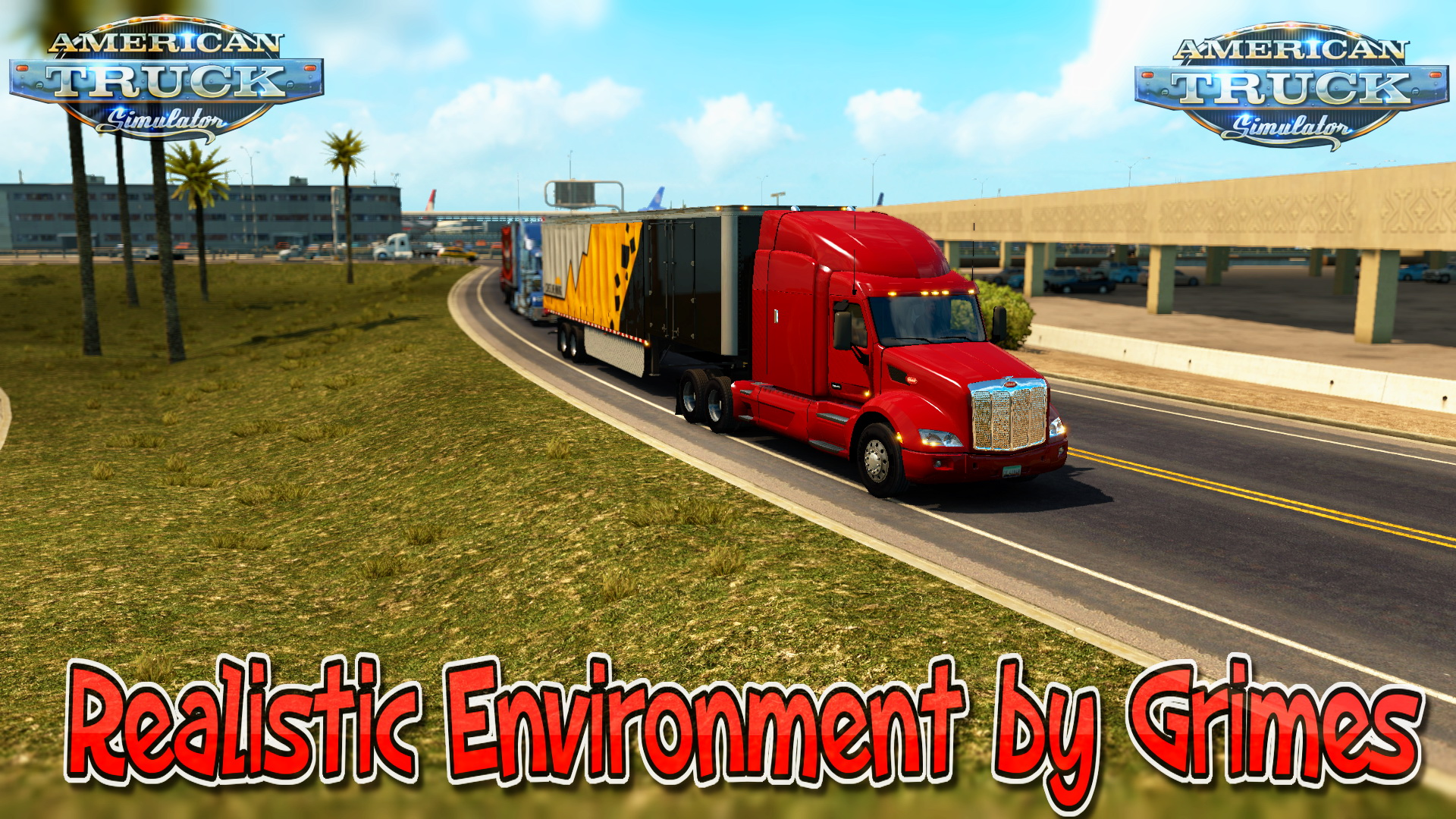 Realistic Environment v1.0 by Grimes for ATS