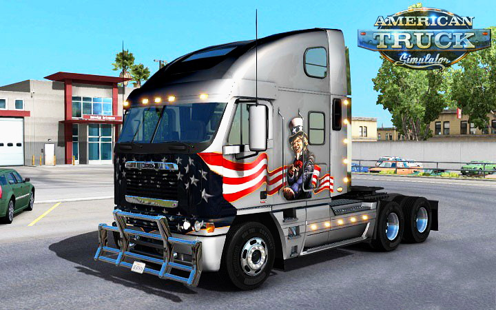 Uncle Sam Skin for Argosy v1.0 by Piva