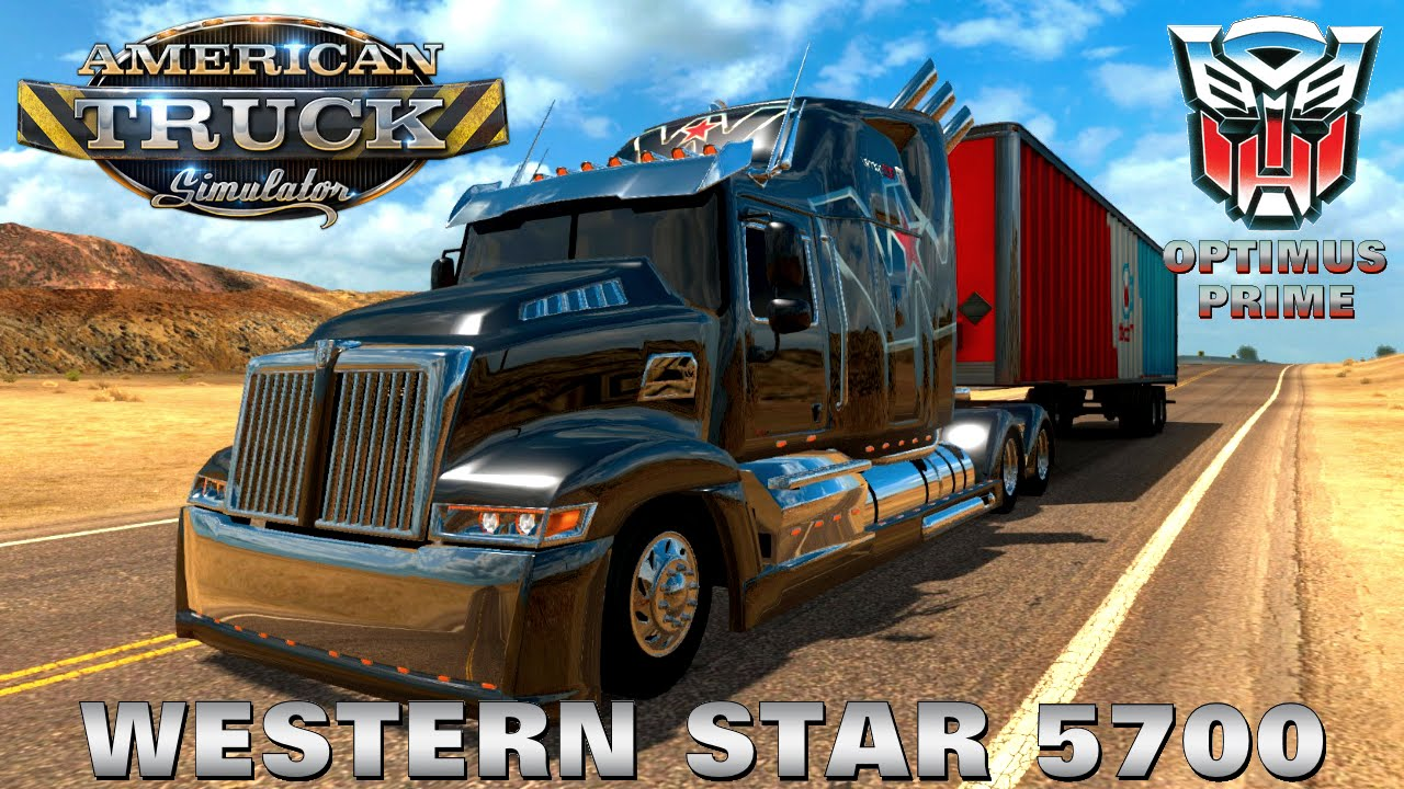 Wester Star 5700 Optimus Prime v1.4 (v1.3.x)