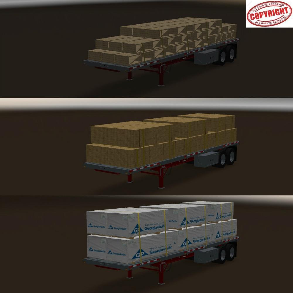 Trailer Manac 2 axles v1.0 for ATS