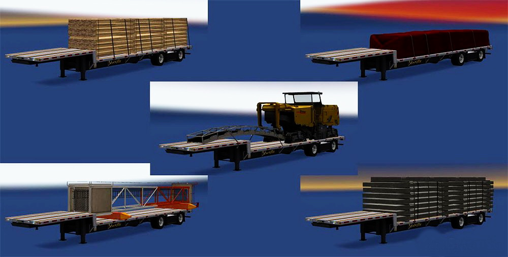 Trailers Pack Fontaine Velocity v1.0