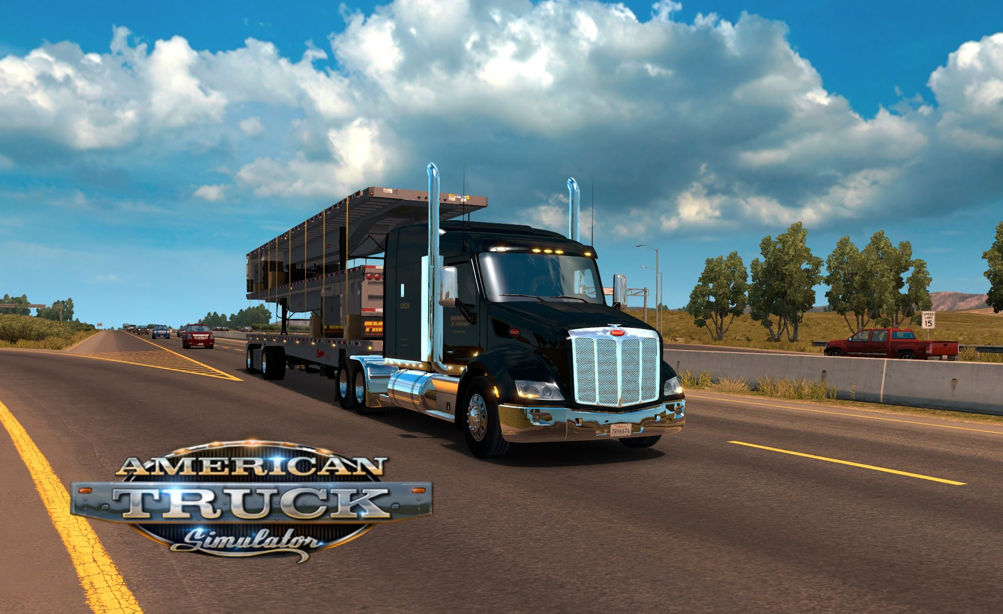 Peterbilt 579 + Interior v1.0 (Edit version)
