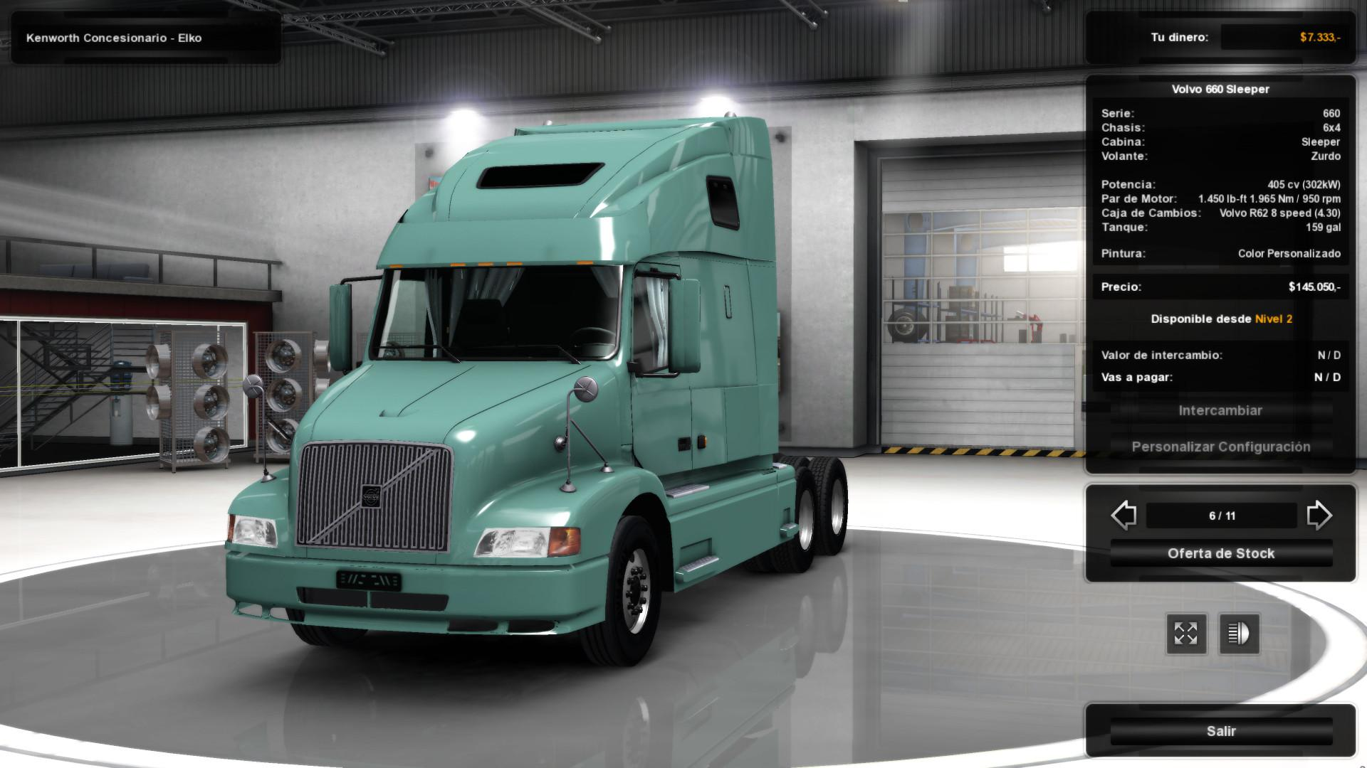 Volvo VNL 660 for ATS v1.3 by H.Trucker (v1.3.x)
