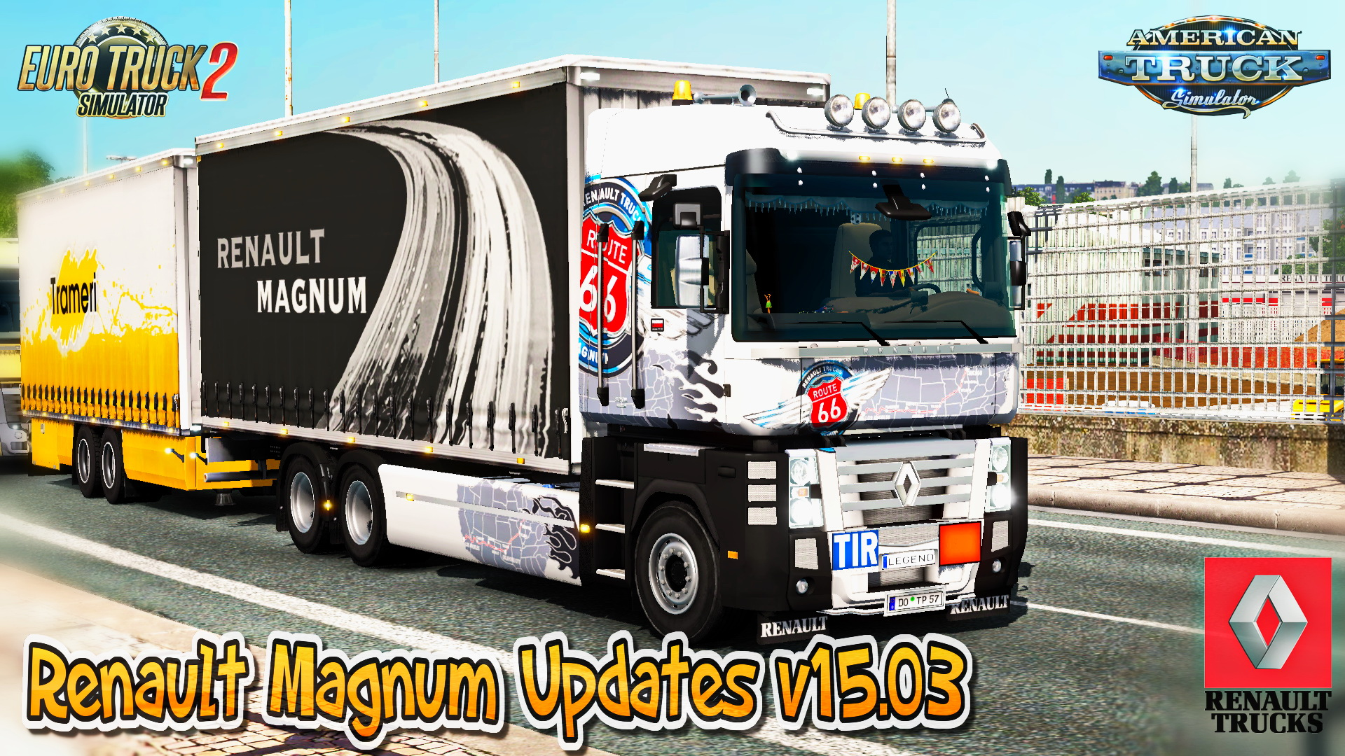 Renault Magnum Updates v15.03 by Knox_xss for ATS