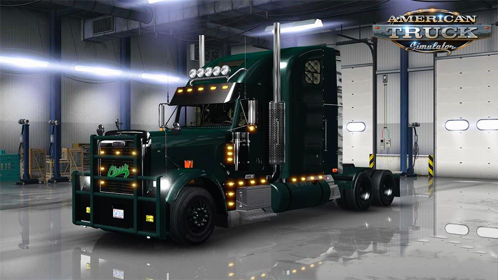 Freightliner Classic XL v1.3 Edited by CyrusTheVirus (v1.3.x)