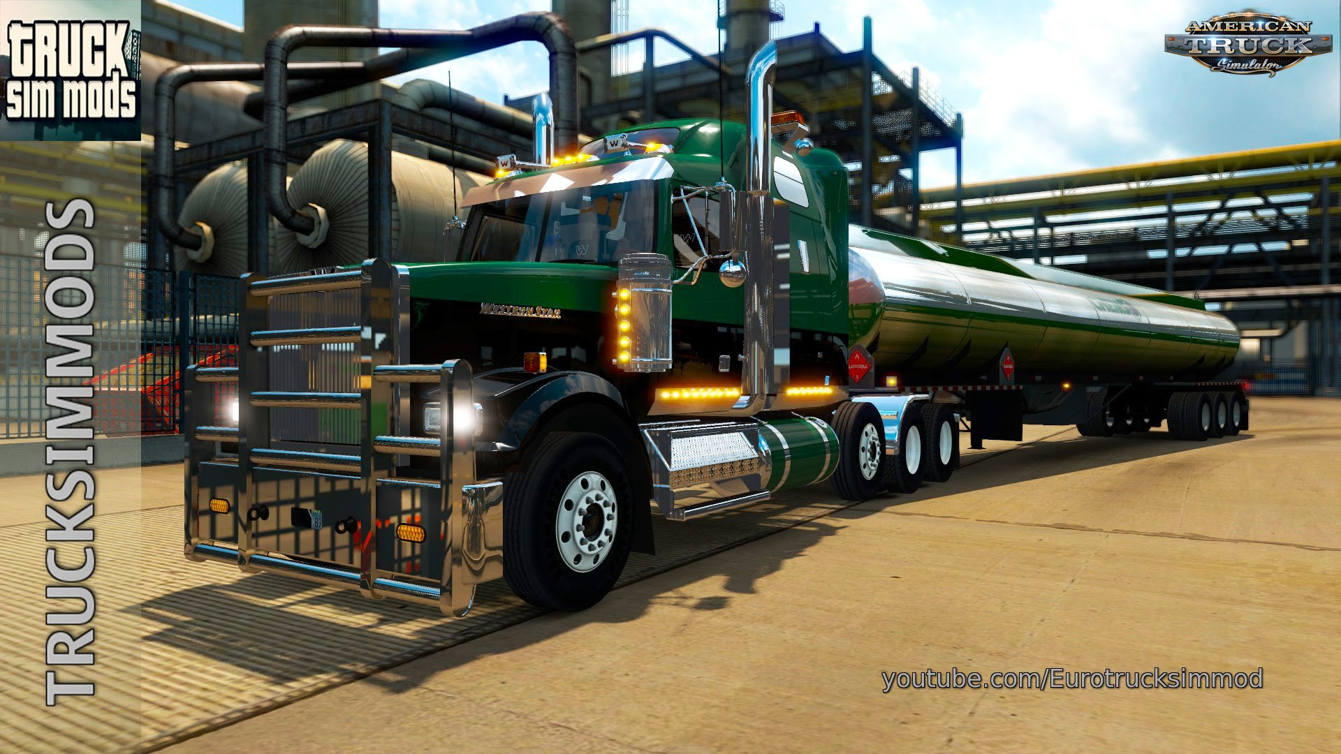 Western Star 4900FA for ATS (1.4.x)