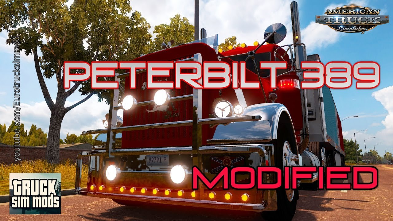 True Arts Modding Peterbilt 389 Modified v3.1 (ATS) (v1.4.x)