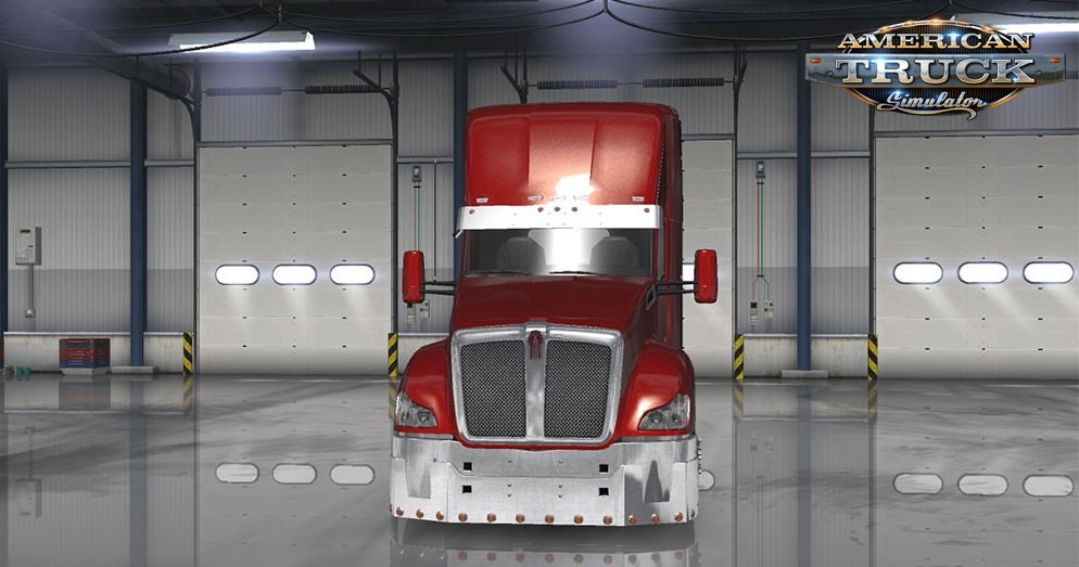 Kenworth T680 Mod for multiplayer in Ats