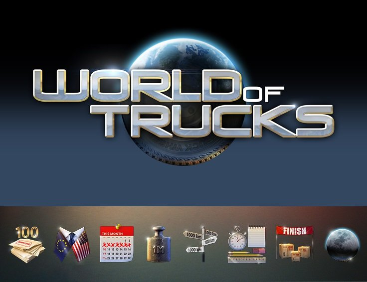 World of Trucks - New Achievements To Hunt