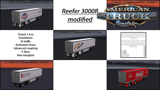 Reefer 3000R replace SCS for Ats