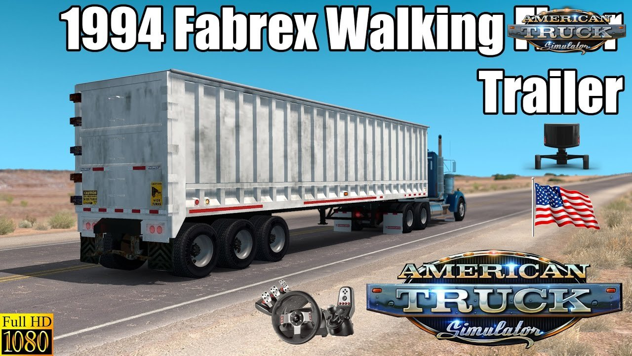1994 Fabrex Walking Floor Trailer for ATS