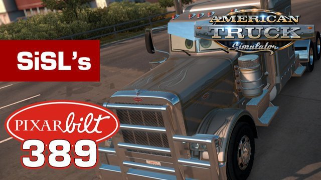 "Sticker on the windshield ""Pixarbilt""to Peterbilt 389 [1.4.x]"
