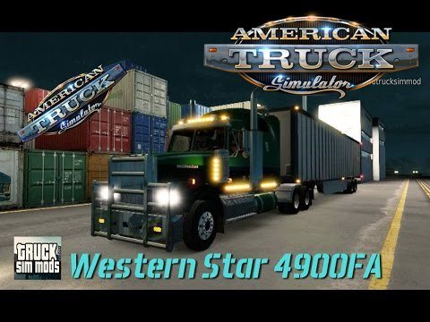 Western Star 4900FA for ATS