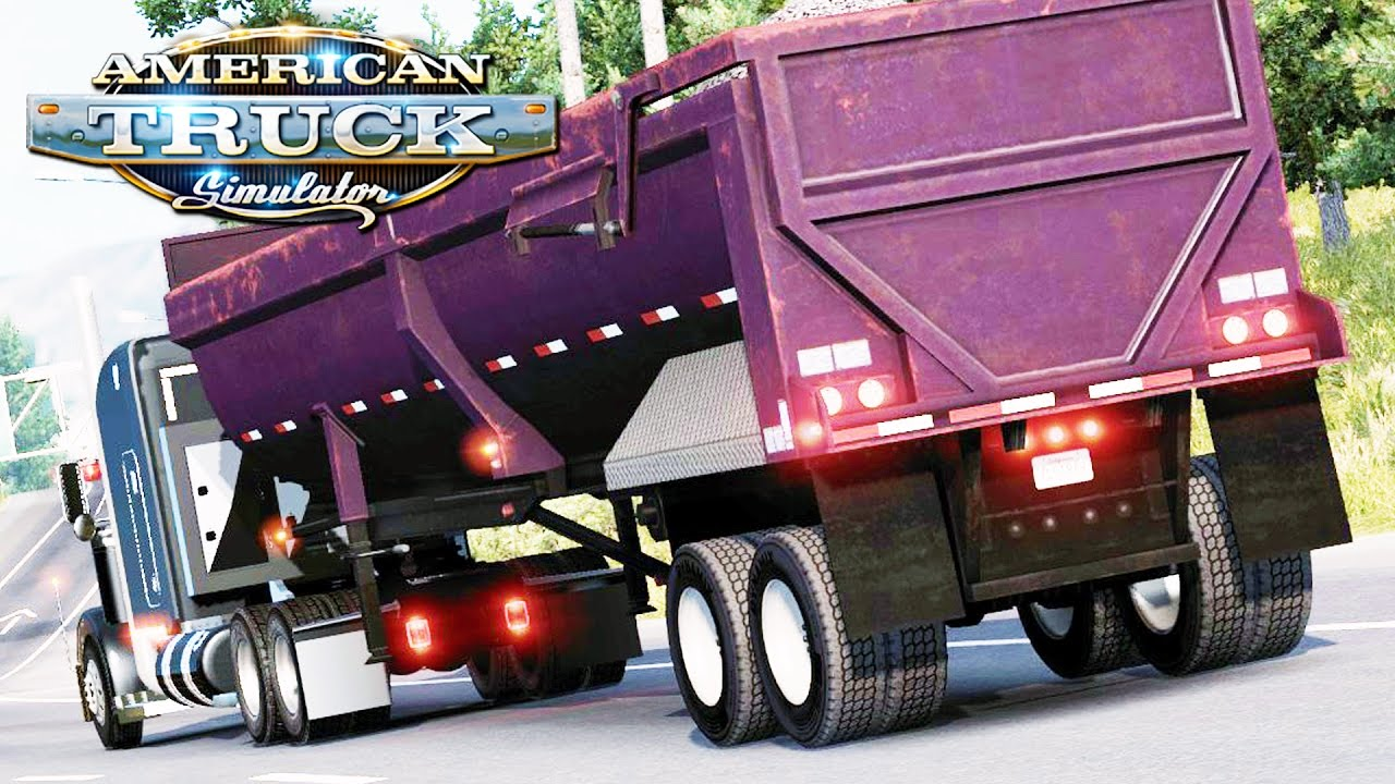 American Truck Simulator - Accident Ahead (Video)