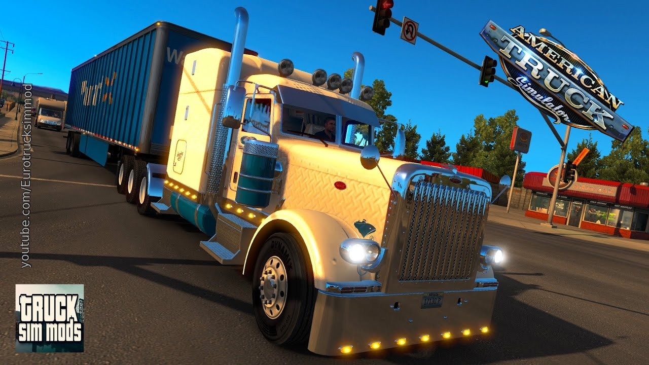 Tri-Drive Peterbilt 389 by Bu5ted