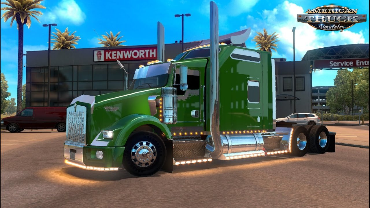Kenworth T800 by Marihuas Loco (BETA) for ATS
